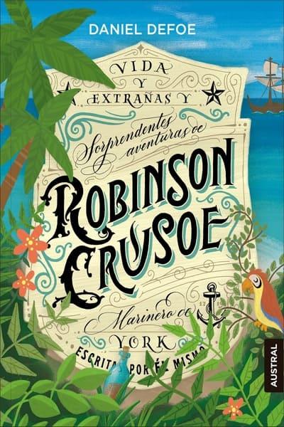 Robinson Crusoe, de Daniel Defoe